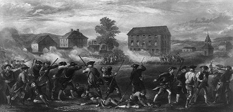 a plot summary of the story of the battle of lexington and concord