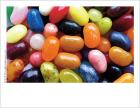 A wordless photo card depicting jelly beans