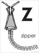 Z, zipper