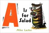 A is for Salad cover