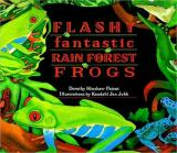 Flashy Fantastic Rain Forest Frogs cover