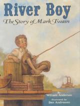 River Boy The Story of Mark Twain cover