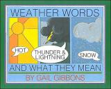 Weather Words and What They Mean cover