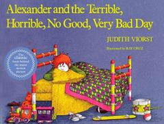 Alexander and the Terrible Day cover