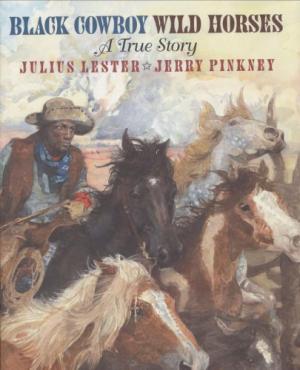 Black Cowboy Wild Horses cover