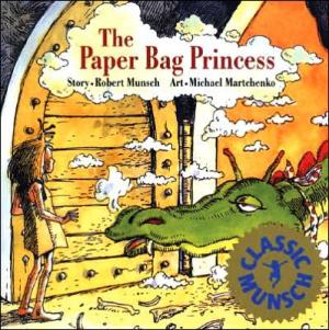 The Paper Bag Princess cover